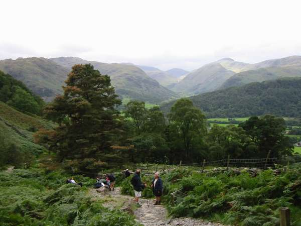 Upper Borrowdale from near the Resting Stone