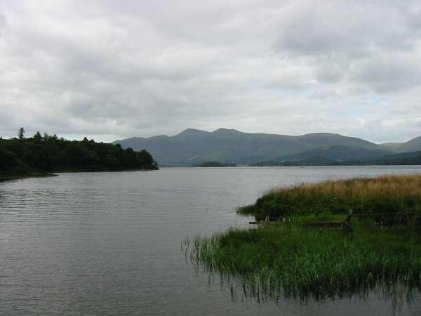 Skiddaw across Derwent Water