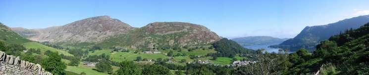 Panorama of Glenridding