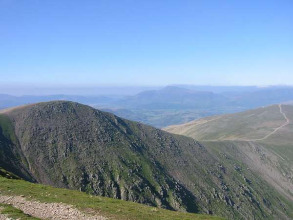 Lower Man with Skiddaw in the distance