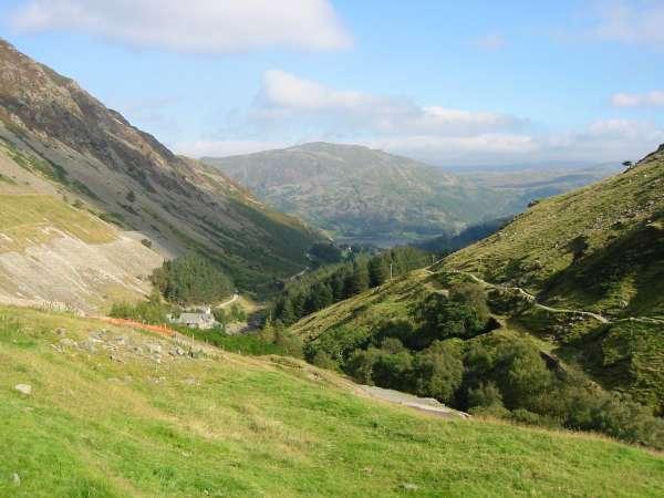 Glenridding valley from above Greenside Mine
