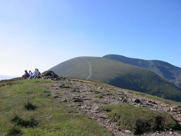 Scar Crags summit
