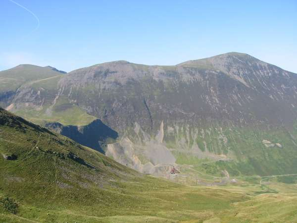 Grisedale Pike and Force Crag Mine