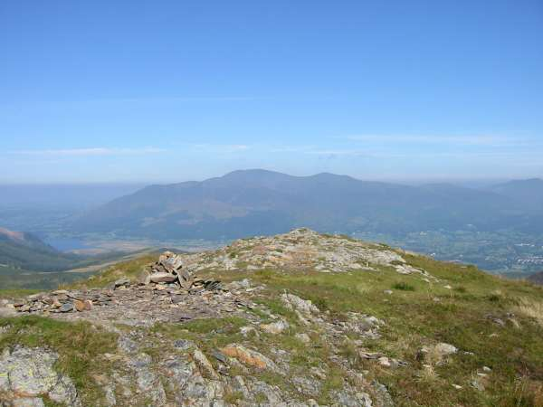 Skiddaw from Outerside's summit