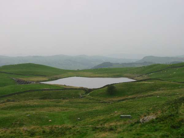 Looking back down on Potter Tarn
