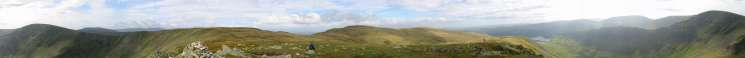 360 Panorama from Kidsty Pike's summit