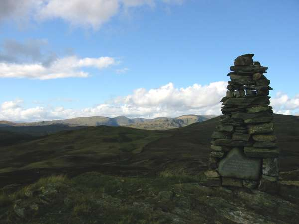 The Kentmere Fells from Whiteside Pike's summit