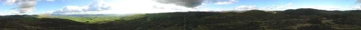 360 Panorama from Whiteside Pike's summit