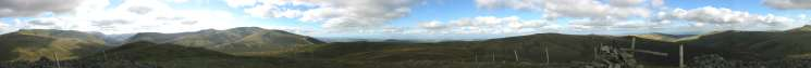 360 Panorama from Great Calva's summit