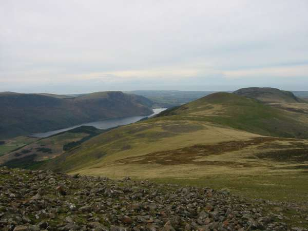 Ennerdale Water and the ridge to Starling Dodd and Great Borne