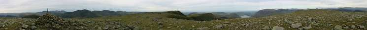 360 Panorama from High Stile's summit