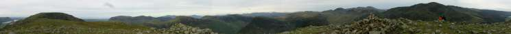 360 Panorama from High Crag's summit