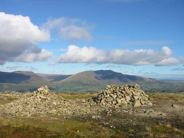 Blencathra from Bleaberry Fell's summit