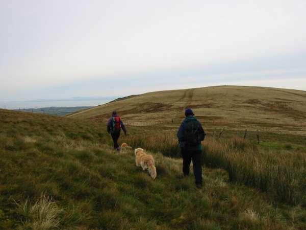 Heading for Burnbank Fell