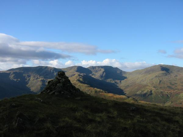 Fairfield from Brock Crags summit