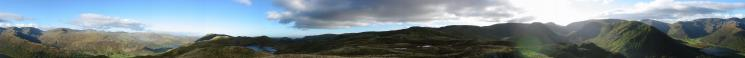 360 Panorama from Brock Crags summit