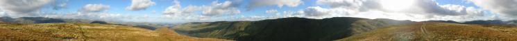 360 Panorama from Rest Dodd's summit
