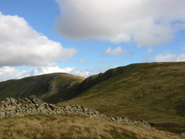 High Raise, Martindale and Rampsgill Head from The Knott