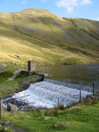The Knott from Hayeswater weir