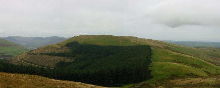 Graystones from the descent off Broom Fell