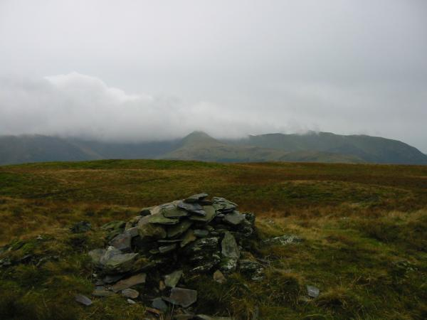 Ladyside Pike from Graystones summit