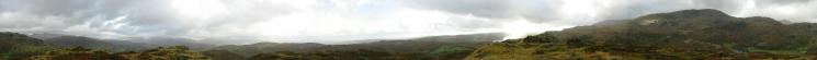 360 Panorama from Holme Fell's summit