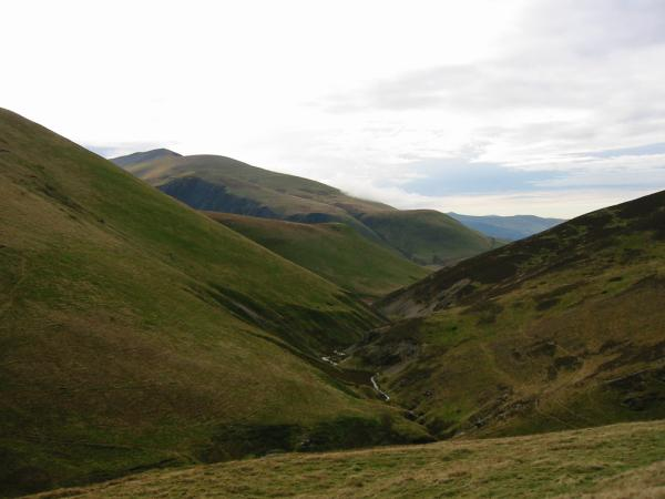 Burntod Gill and Skiddaw