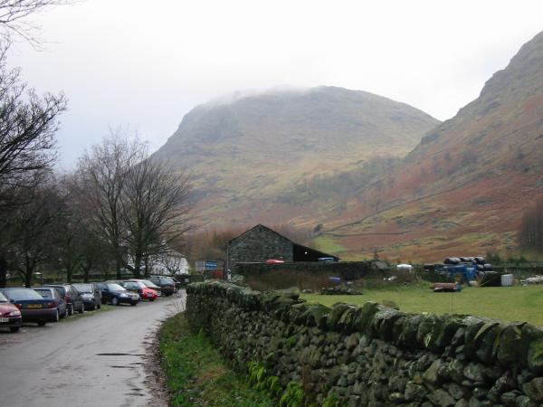 Seathwaite Fell from Seathwaite