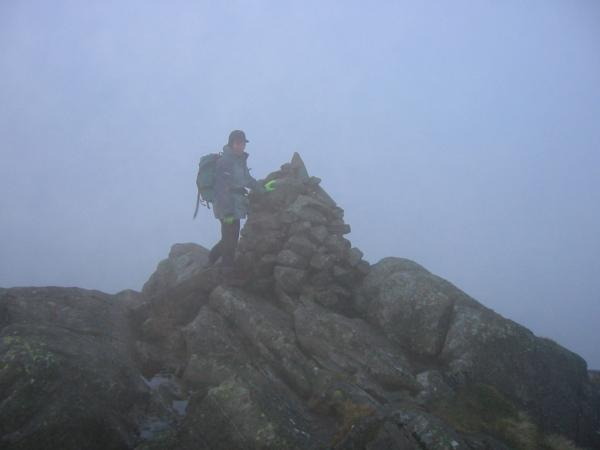 Seathwaite Fell, Wainwright's summit (601m)