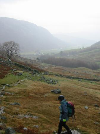 A wet Borrowdale