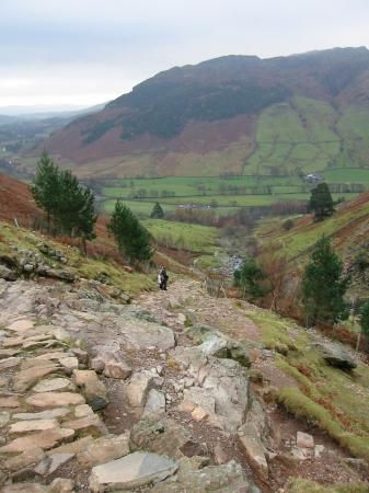 Path down by Stickle Ghyll