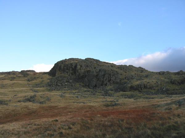 Looking across to Buckbarrow's summit