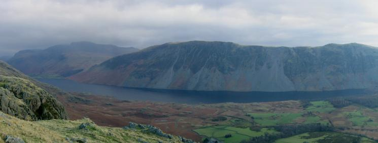 The Scafells, Wastwater and The Screes from Buckbarrow