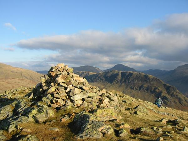Middle Fell summit