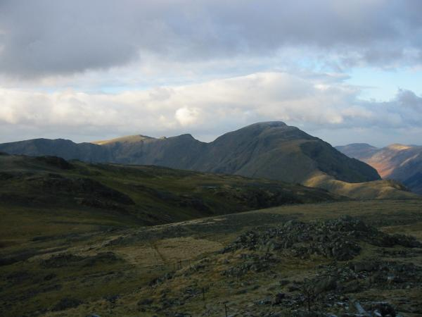 Red Pike, Scoat Fell, Black Crag and Pillar