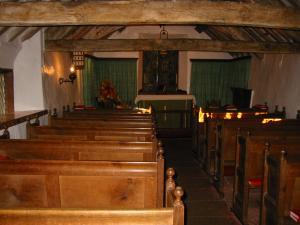 Inside St Olafs, Wasdale Head