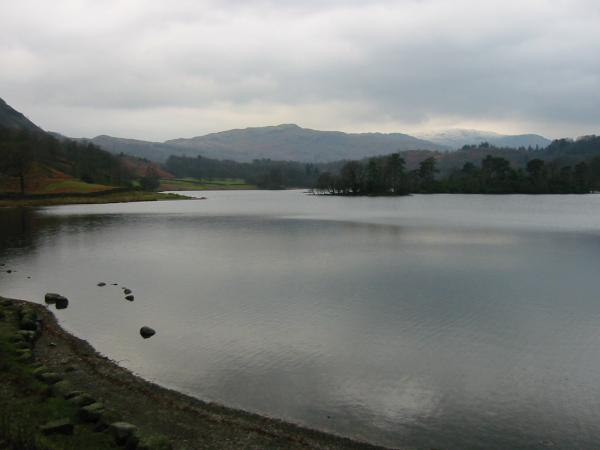 Rydal Water, looking towards Silver How