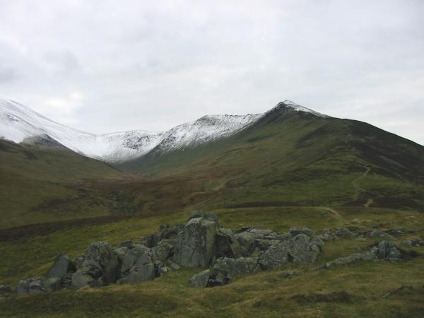Longside Edge and Ullock Pike from Watches