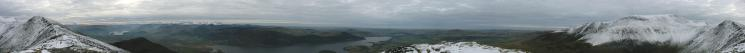 360 Panorama from Ullock Pike's summit