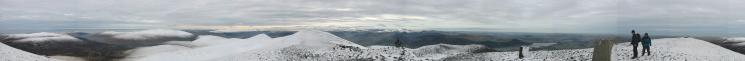 360 Panorama from Skiddaw's summit