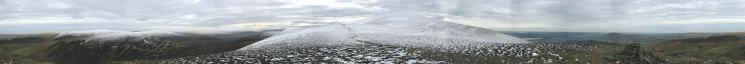 360 Panorama from Bakestall's summit