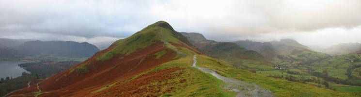 Catbells from its north ridge (Skelgill Bank)