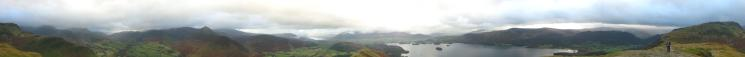 360 Panorama from Catbells summit