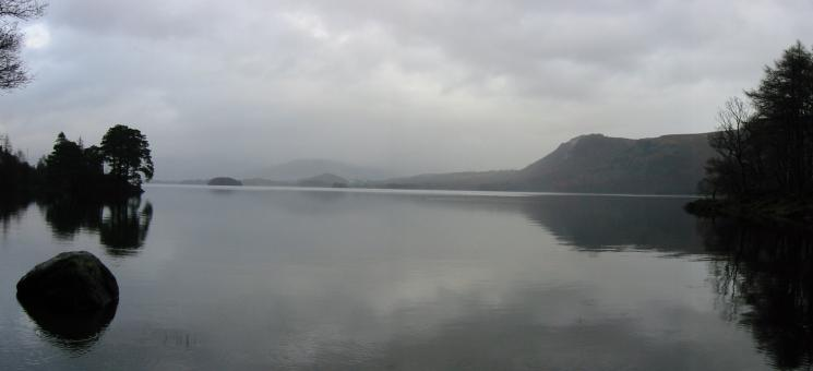 Walla Crag from Abbot's Bay, Derwent Water
