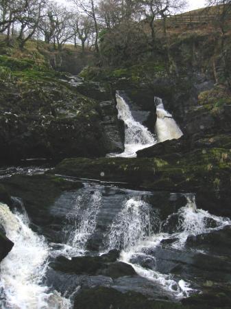 Beezley Falls, Triple Spout