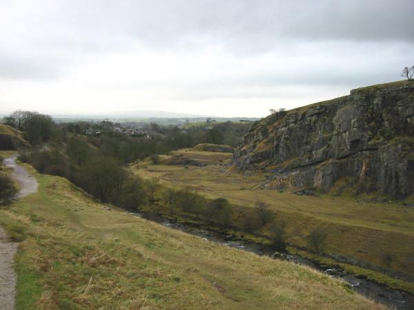Disused quarry just north of Ingleton