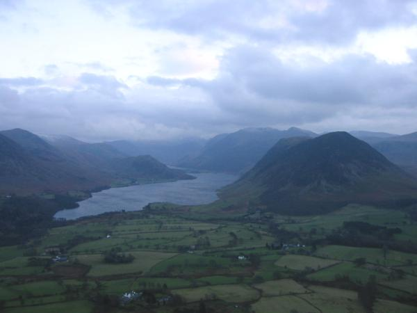 Crummock Water again from higher up Low Fell