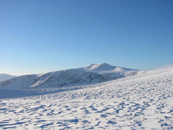 Blencathra from Bowscale Fell's east ridge