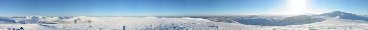 360 Panorama from Bowscale Fell's summit