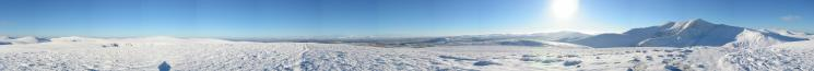 360 Panorama from Bannerdale Crags' summit